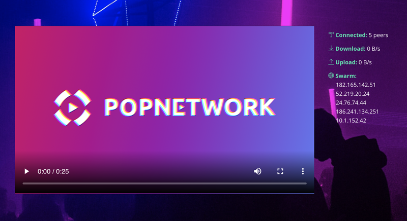 POP Network demo
