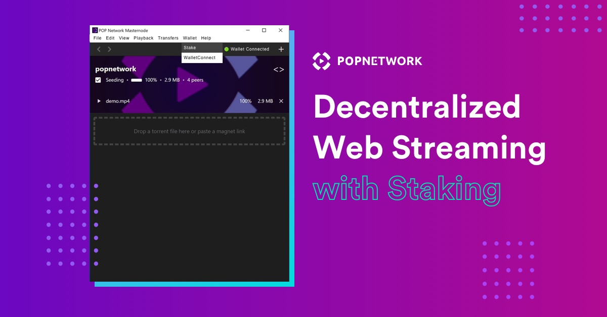 POP Network Masternode with Staking